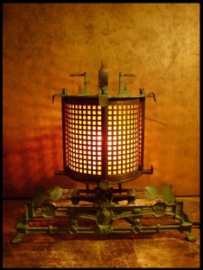 steampunk lamp-8